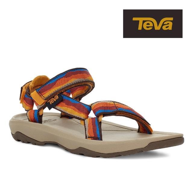 【TEVA】原廠貨 幼童 Hurricane XLT2 機能運動涼鞋/雨鞋/水鞋/童鞋(野地夕陽色-TV1019390TVSNS)