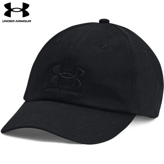 【UNDER ARMOUR】UA 女 Essentials棒球帽_1361538-001(黑)