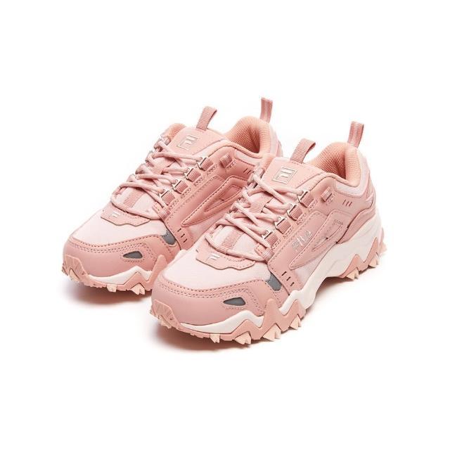 【FILA】運動鞋 慢跑鞋 OAKMONT TR 女慢跑鞋-粉(5-J032V-650)