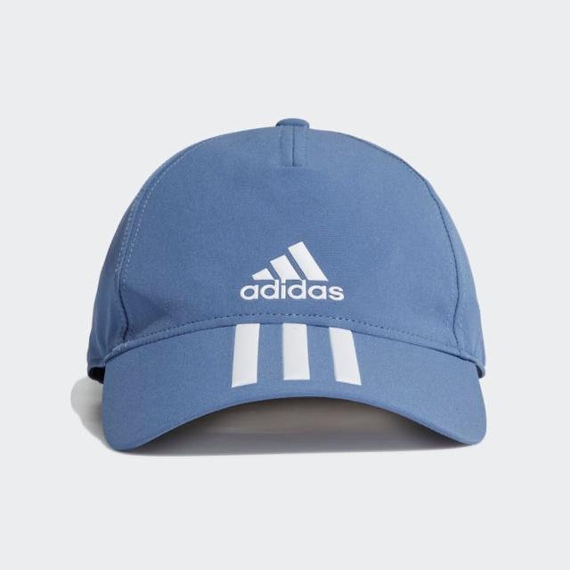 【adidas 愛迪達】帽子 老帽 遮陽帽 棒球帽 藍 GM6279