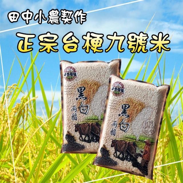 【田中小農契作】純正台梗九號米-3包