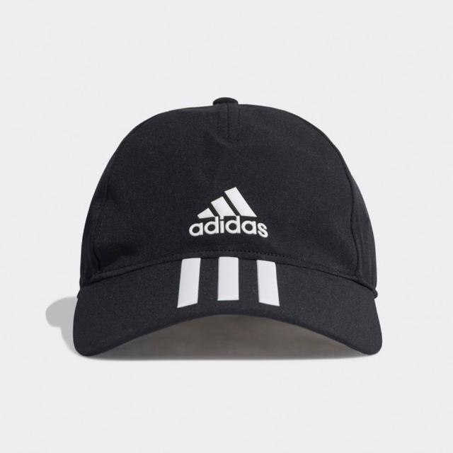 【adidas 愛迪達】帽子 老帽 遮陽帽 棒球帽 黑 GM6278