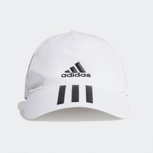 【adidas 愛迪達】帽子 老帽 遮陽帽 棒球帽 白 GM4511