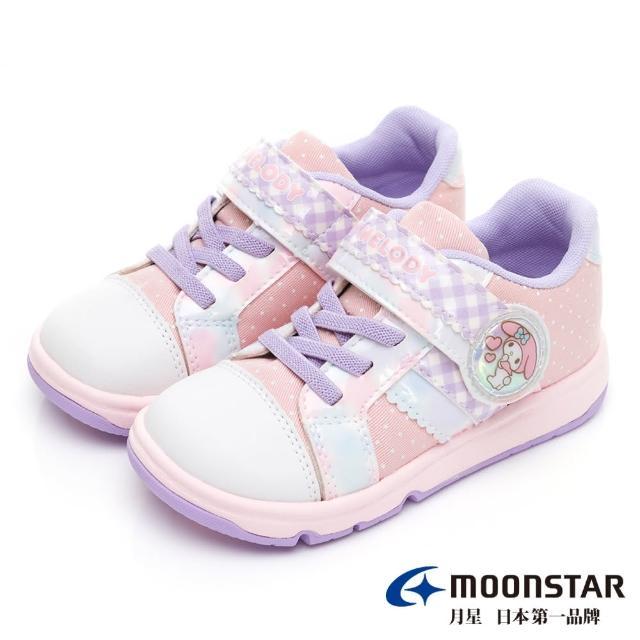 【MOONSTAR 月星】三麗鷗家族美樂地童鞋(SANC0134粉15~16CM)
