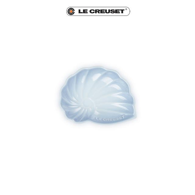 【Le Creuset】瓷器海螺貝殼盤-小(海岸藍)