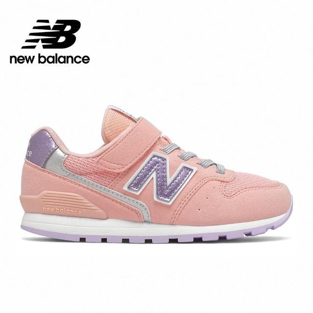【NEW BALANCE】NB 童鞋_男鞋/女鞋_灰粉紅_YV996UPN-W楦