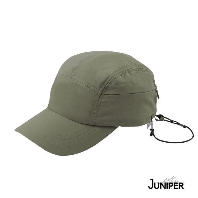 【Juniper 朱尼博】抗UV防曬戶外休閒運動帽 MJ7218(帽子/鴨舌帽/五分割帽/休閒帽/五片帽)