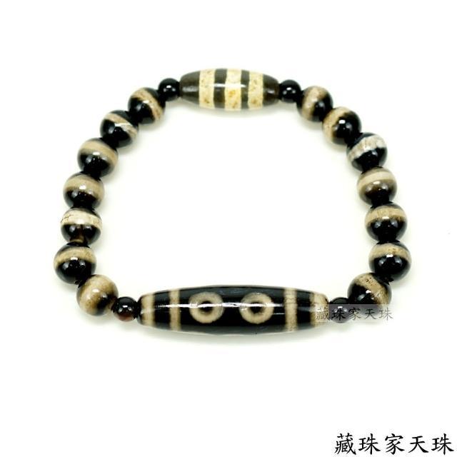 【藏珠家】五眼+線珠天珠手鍊