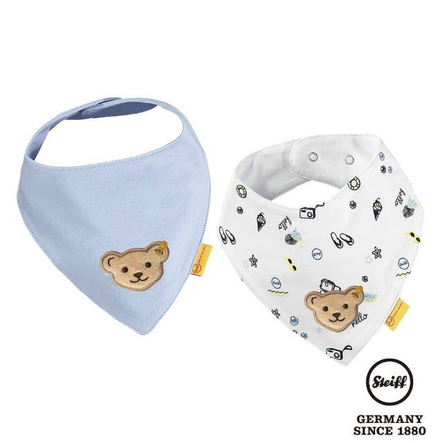 【STEIFF】熊頭 口水巾 領巾(圍兜)