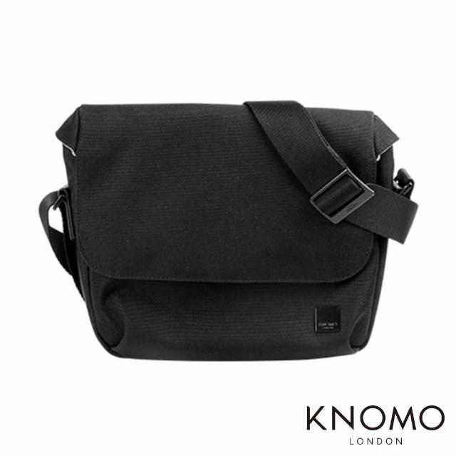 【KNOMO】英國 Euston Messenger 9.7 吋單肩側背小包(黑色)