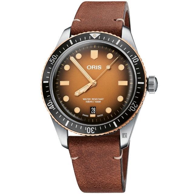 【ORIS 豪利時】Divers Sixty-Five日期錶(0173377074356-0752045)