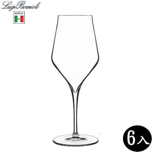 【Luigi Bormioli】頂級紅酒杯 水晶玻璃 450ml/6入 450ml(紅酒杯)