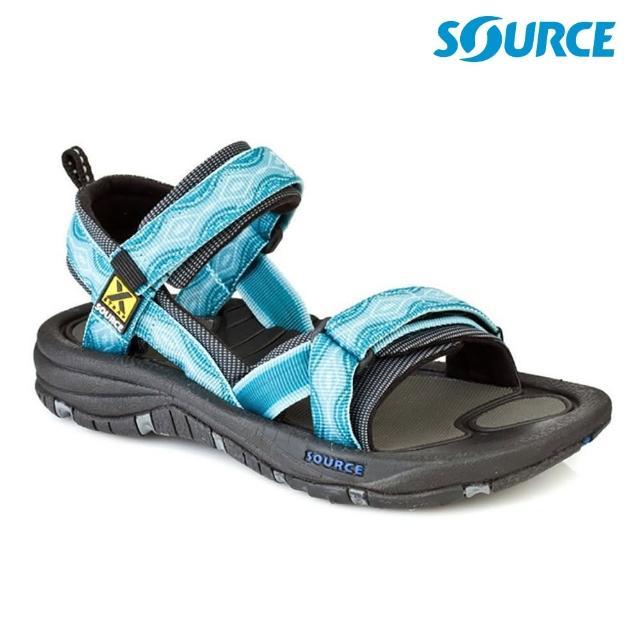 【SOURCE】女 Gobi 越野運動涼鞋 102022B5 夢幻藍(織帶 輕量 快乾 抑菌)