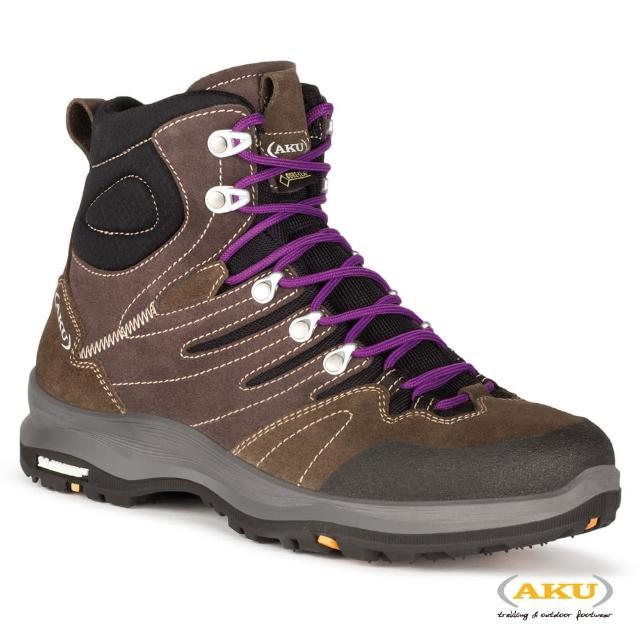 【AKU】女 中筒 多功能米其林健行鞋 棕 MONTERA GTX(AK735-050/登山鞋/健行鞋)