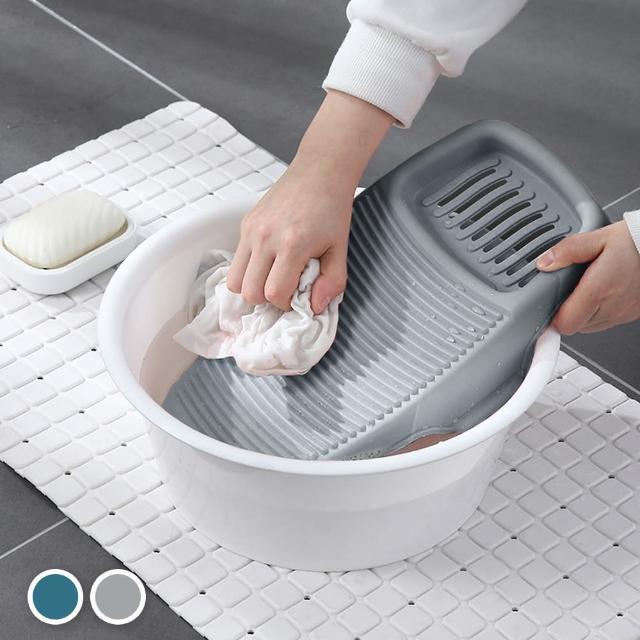 【E.dot】輕巧防滑洗衣板搓衣板