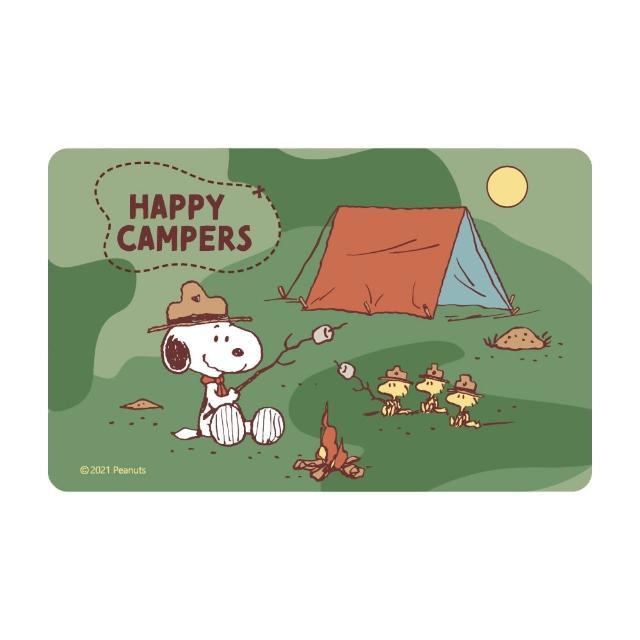 【iPASS 一卡通】SNOOPY《野營》一卡通 代銷(史努比)