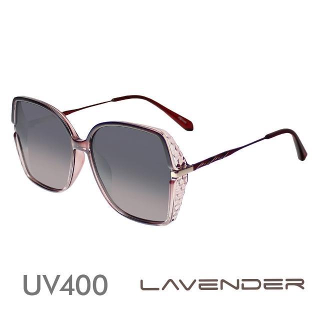 【Lavender】經典菱紋-寶石紅12141-C4(偏光太陽眼鏡)