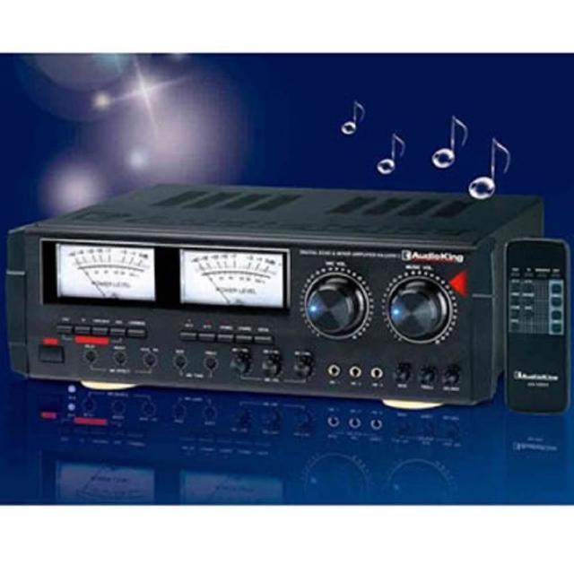 【Audio King】專業家庭劇院兩用卡拉OK 擴大機 KA-1000 II