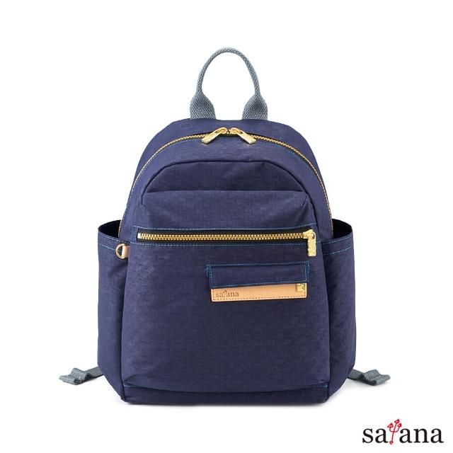 【satana】Soldier 心旅行後背包(琉璃藍)