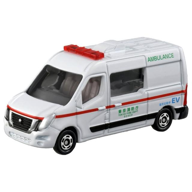 【TOMICA】多美小汽車 NO.044 日產 NV400 EV 救護車(小汽車)