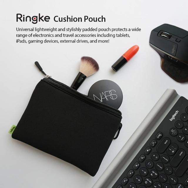 【Ringke】Cushion Pouch 輕便防震收納內袋(電子產品和旅行配件收納袋;20x14/24x17cm)