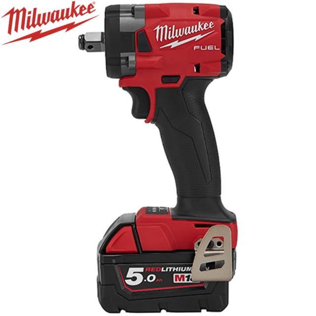 【Milwaukee 美沃奇】18V鋰電無碳刷衝擊扳手(M18FIW212-502B)