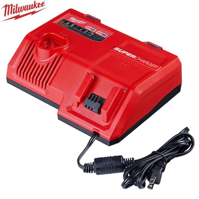 【Milwaukee 美沃奇】12-18V鋰電超級充電器(M12-18SC)