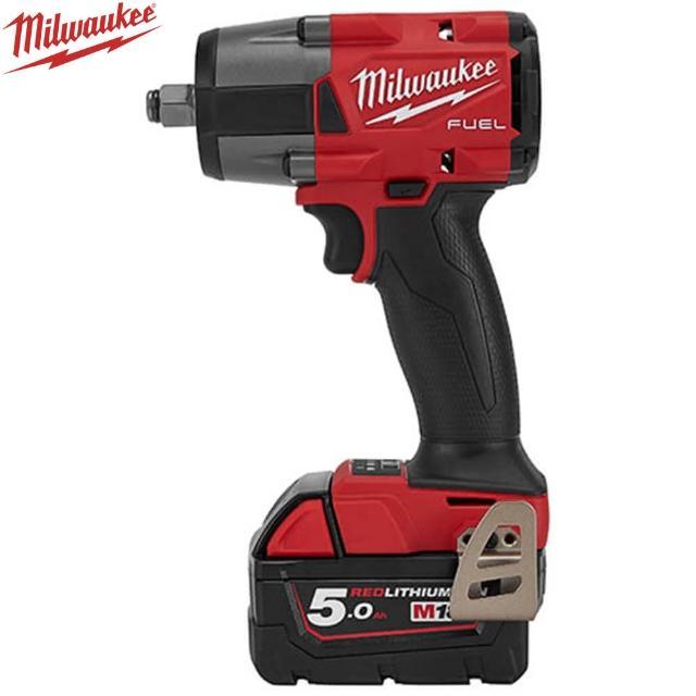 【Milwaukee 美沃奇】18V鋰電無碳刷中扭力扳手(M18FMTIW2F12-502B)