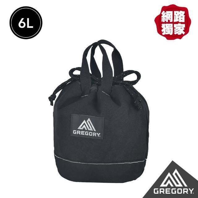 【Gregory】6L CINCH CANV束口兩用包(黑)