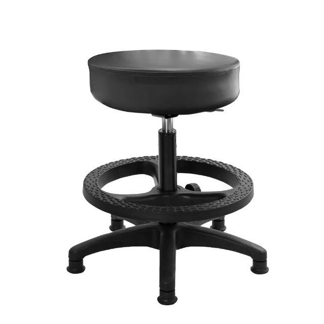 【GXG 吉加吉】圓凳款 工作椅 塑膠踏圈(TW-T01 EK)