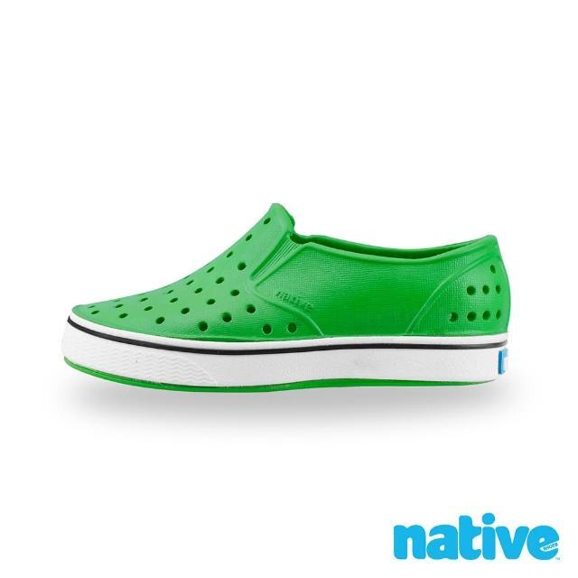 【native】大童鞋 MILES 小邁斯(蚱蜢綠x貝殼白)