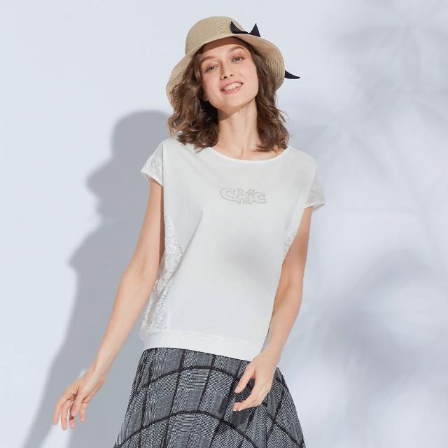 【AZUR】ChicChic蕾絲拼接T-shirt