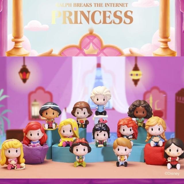 【POPMART 泡泡瑪特】迪士尼公主睡衣派對系列公仔盒玩(12入盒裝)