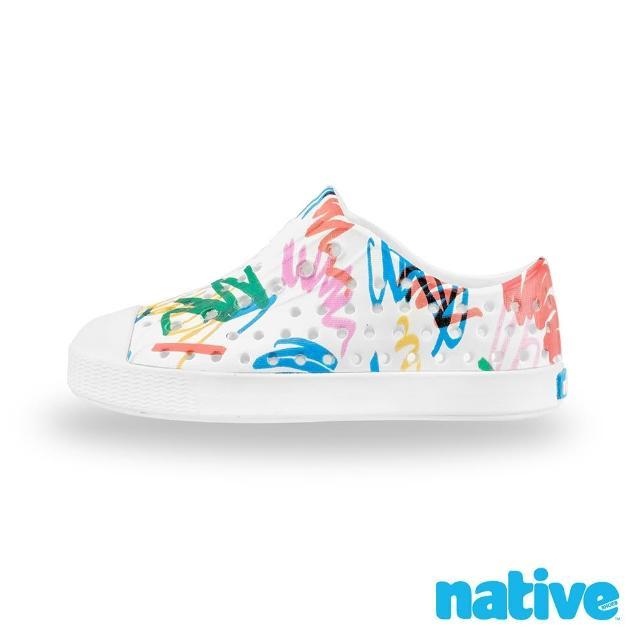 【native】小童鞋 JEFFERSON 小奶油頭鞋(蠟筆派對)