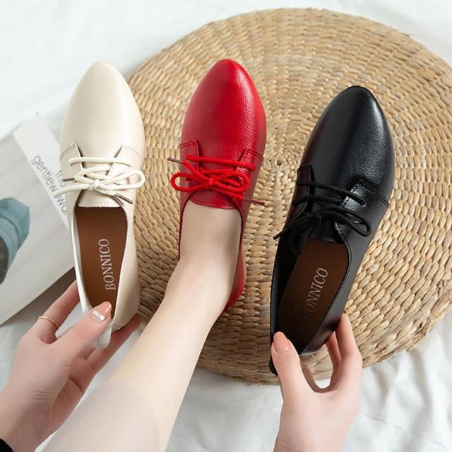 【K.W.】獨賣晴雨帥氣低筒皮鞋-通勤鞋/皮鞋(共3色)