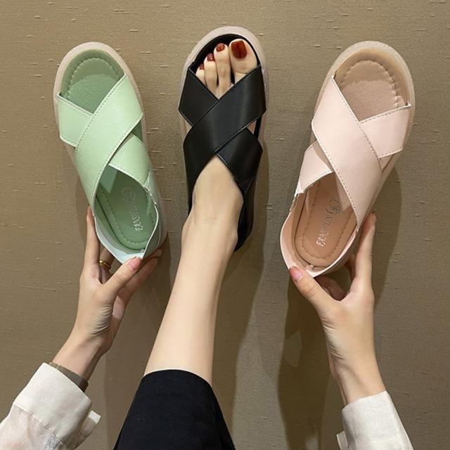 【K.W.】獨賣活力宣言涼鞋-涼鞋/涼跟鞋(共3色)