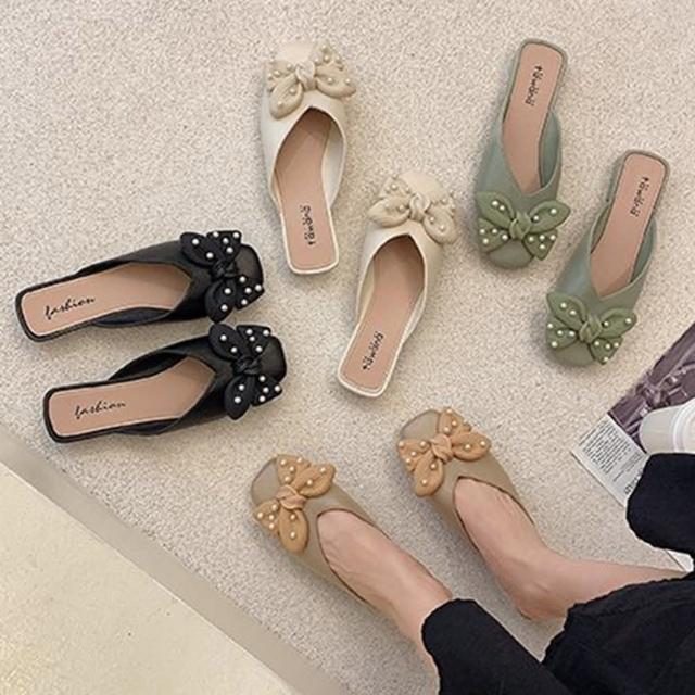 【K.W.】獨賣自在樂活懶人鞋-涼鞋/涼跟鞋/懶人鞋/穆勒鞋(共3色)