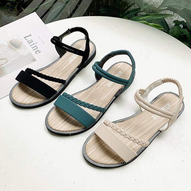 【K.W.】獨賣搭配滿分涼鞋-涼鞋/涼跟鞋(共3色)