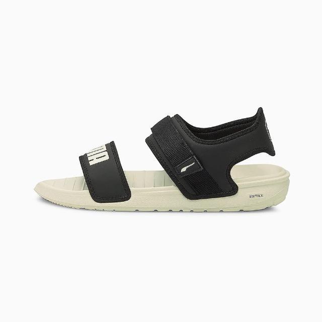 【PUMA】涼鞋 女鞋 運動 黑 37510402
