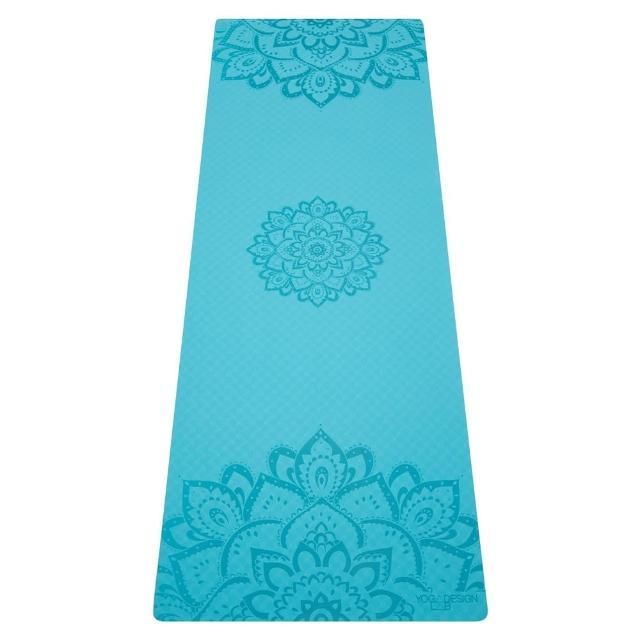 【Yoga Design Lab】Flow Mat TPE環保瑜珈墊 6mm - Aqua(TPE瑜珈墊)