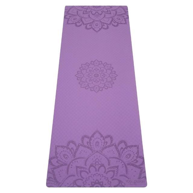 【Yoga Design Lab】Flow Mat TPE環保瑜珈墊 6mm - Lavender(TPE瑜珈墊)