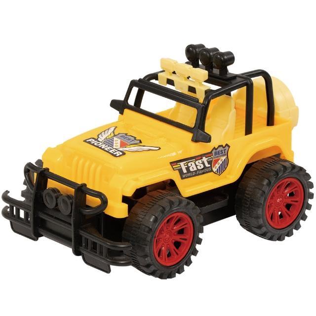 【TDL】益智聲光音效電動越野車吉普車玩具模型車玩具 46-00109