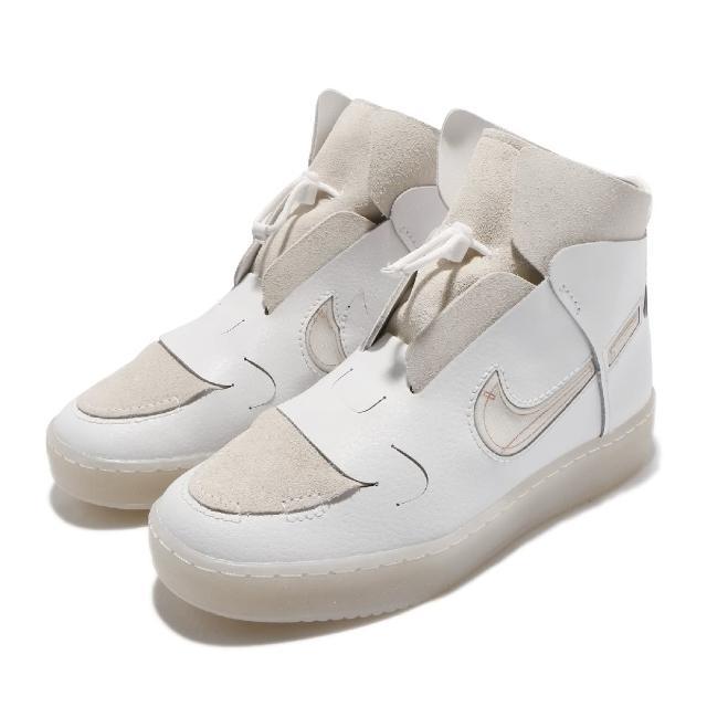 【NIKE 耐吉】休閒鞋 Vandalised 運動 女鞋 海外限定 高筒 質感 簡約 穿搭 白 灰(CI7594-100)