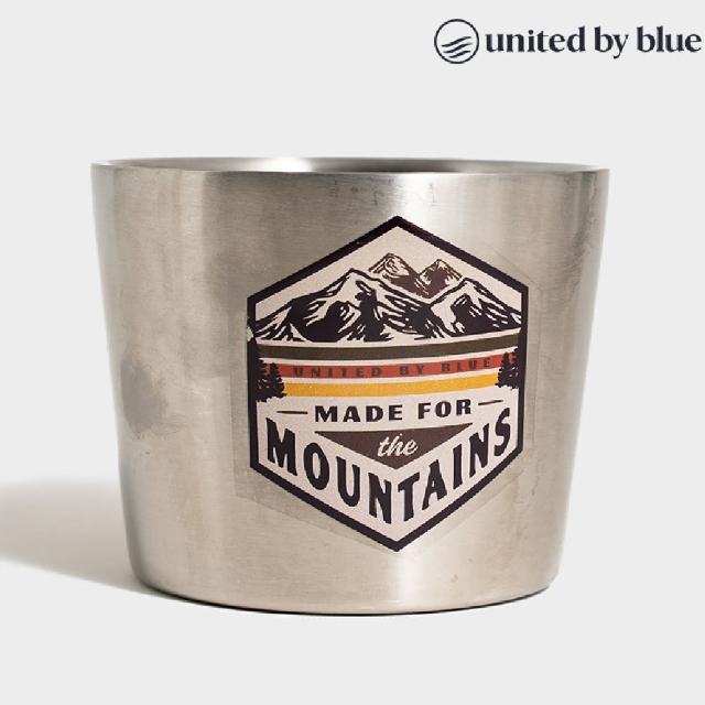 【United by Blue】707-211 12oz Convertible Mug 不鏽鋼馬克杯(保溫、不鏽鋼、溫冷飲、旅行、馬克杯)