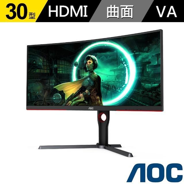 【AOC】CQ30G3Z 30型 21:9 200Hz電競曲面顯示器