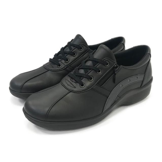 【MOONSTAR 月星】呵護系列女鞋(黑色)