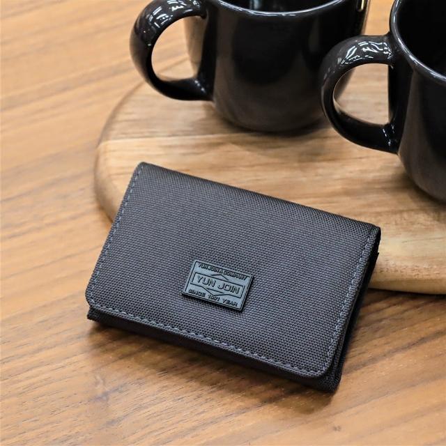 YUN JOIN【YUN JOIN】GENT-卡片夾(皮夾 紳士 多卡位 零錢收納 對折短夾)