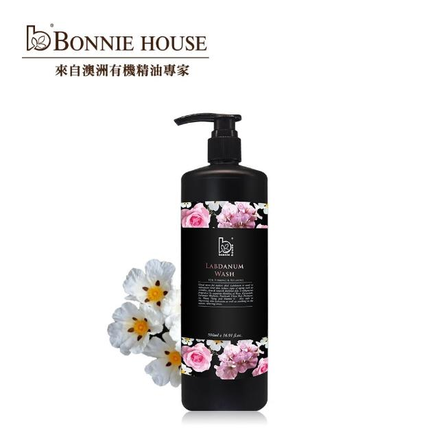 【Bonnie House 植享家】岩玫瑰精油沐浴膠500ml