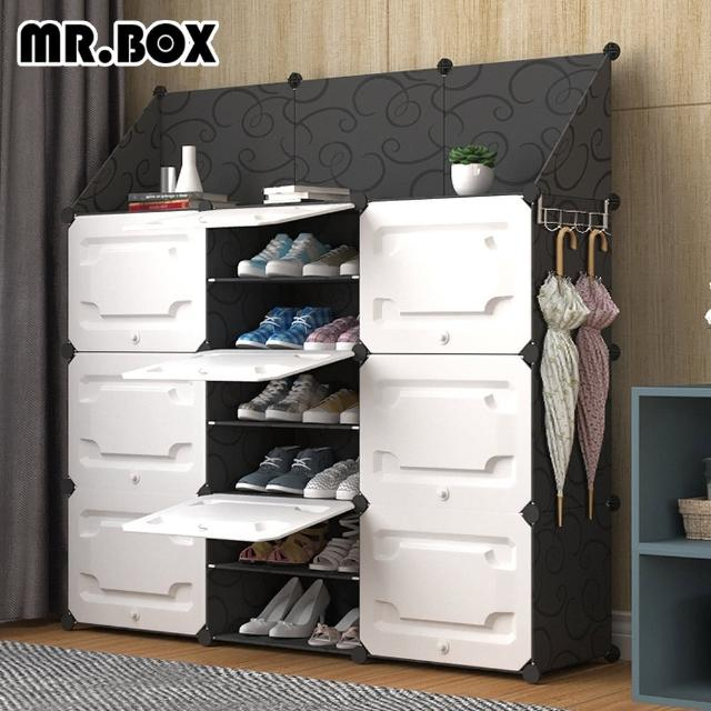 【Mr.Box】原創防塵組合鞋櫃 深 32CM