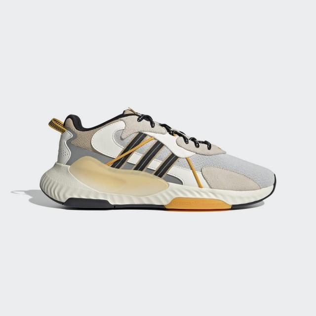 【adidas 愛迪達】HI-TAIL 男 經典鞋 灰黃(H05767)